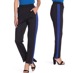 Know One Cares Side Stripe High Rise Jogger Pants